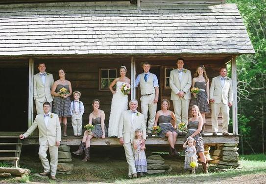 свадебная фотосессия, свадьба в кругу семьи