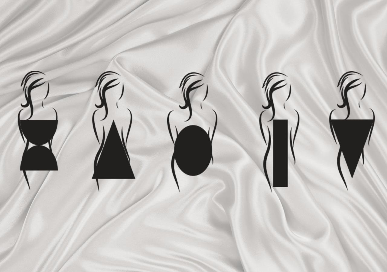 Пять типов фигур женщин