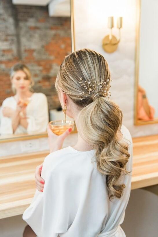 Образ невесты в стиле Урбан-шик Макияж и прическа невесты