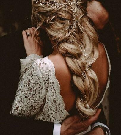 укладка невесте