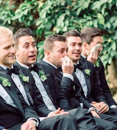 трогательная свадьба