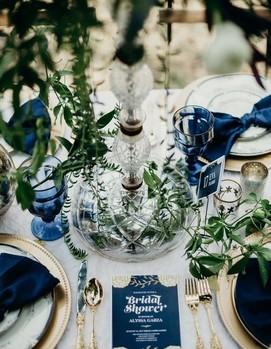 синяя свадьбе