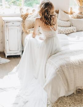 свадебное платье бохо купить