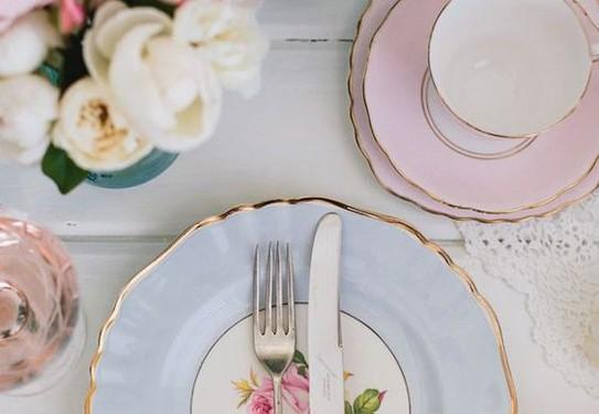 розовый кварц и серенити в свадебном декоре, свадьба в розово-голубых цветах