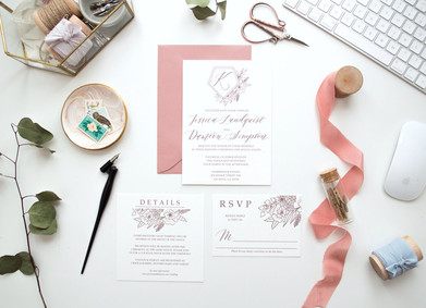 Каллиграфия в свадебном декоре: вдохновляйся и твори!