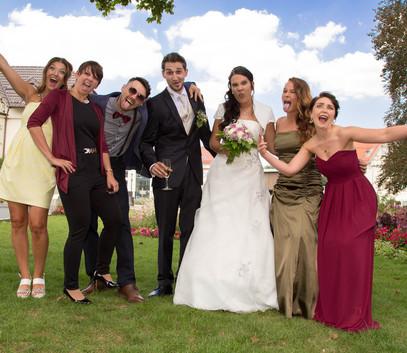свадьба с друзьями
