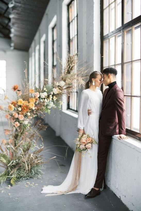 Образ невесты в стиле Урбан-шик