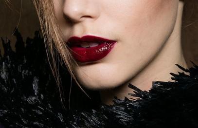 Свадебный макияж губы