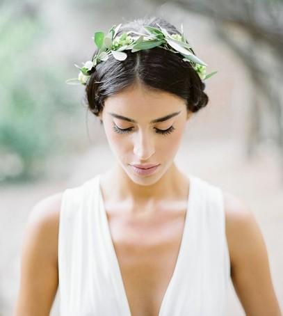 свадьба в греческом стиле , макияж невесты в греческом стиле