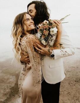 стиль бохо свадьба