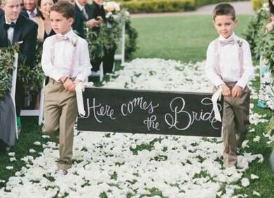 Дети молодоженов на свадьбе: что нужно предусмотреть?