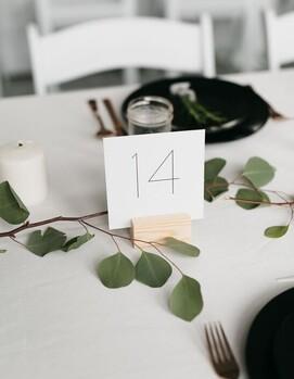 свадебный декор минимализм