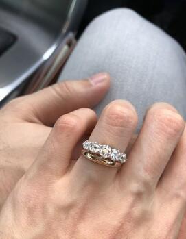 как носить два кольца