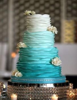 свадьба в стиле тиффани, ретро-свадьба, торт для свадьбы в стиле тиффани