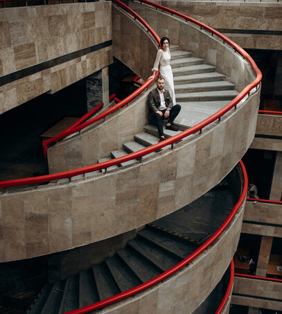 необычные фото свадьбы