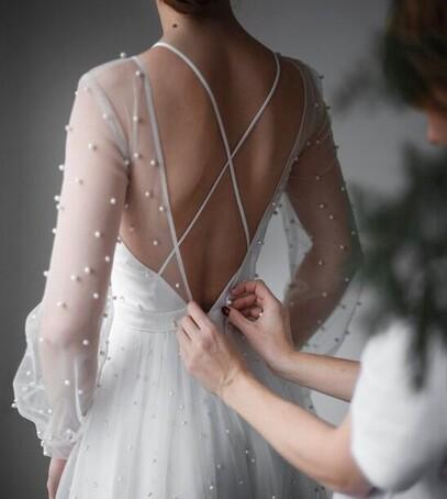 свадебное платье фасоны