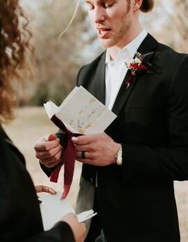 как написать клятву на свадьбу