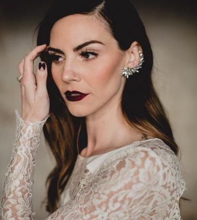 макияж невесты яркий