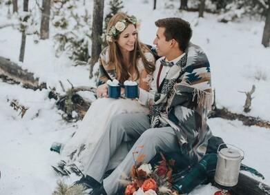Зимняя свадьба: идеи для вашей личной сказки