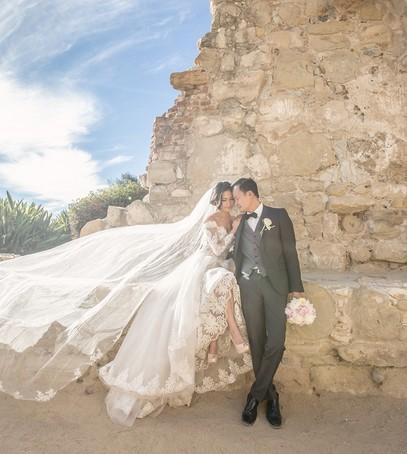 фата собор, длинная фата, фата 2 метра, свадебное фото,жених и невеста