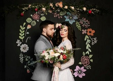 Фотозона на свадьбу: оформление и советы от YesYes
