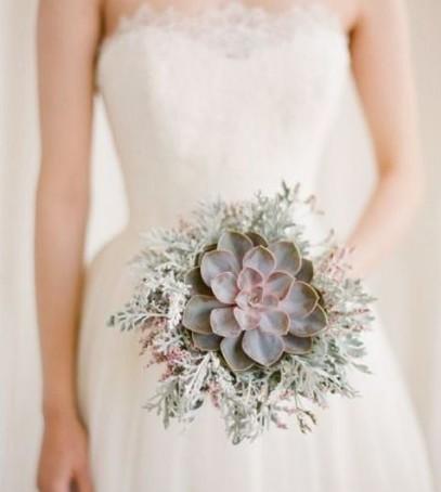 букет невесты 2019 с суккулентами, суккуленты на свадьбе, необычный свадебный букет невесты