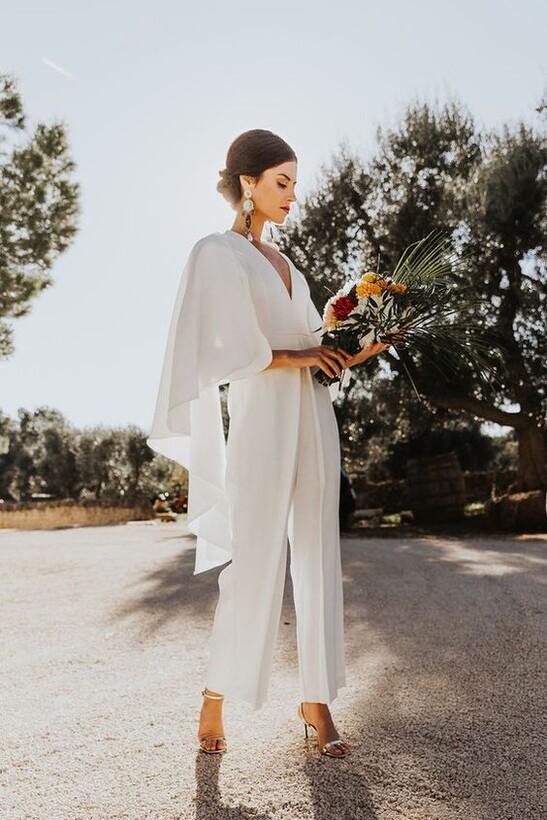 Образ невесты в стиле Урбан-шик Брюки