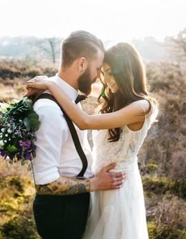 молодожёны, свадебная фотосессия