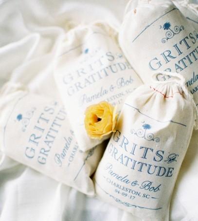 мешочки с солью, мешочки с пряностями, тканевые именные мешочки для подарков гостям