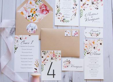 Свадебные приглашения: идеи для вдохновения