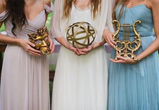 свадьба в греческом стиле , цвета свадьбы в греческом стиле