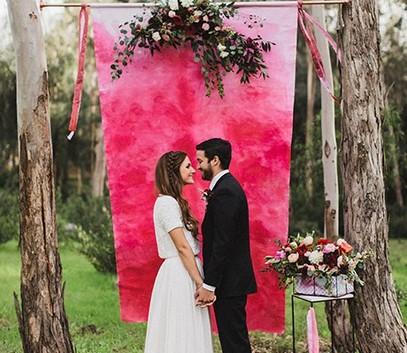 выездная церемония, выездная регистрация, выездная свадьба, декор выездной церемонии