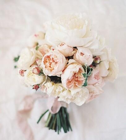 букет невесты зима