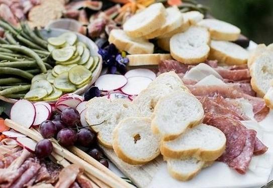 сырная тарелка на свадьбу