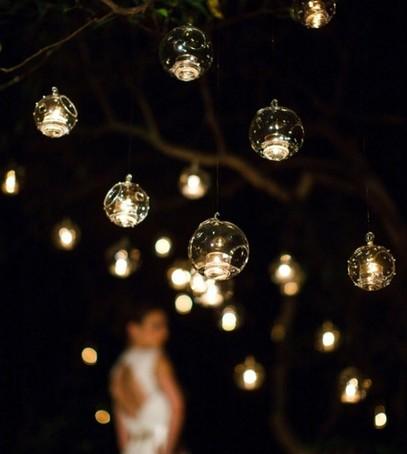 свечи, огоньки, лампочки, фотозона, свадебный декор