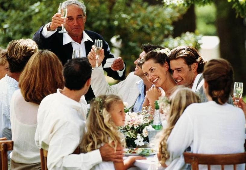 свадебный банкет, празднование свадьбы