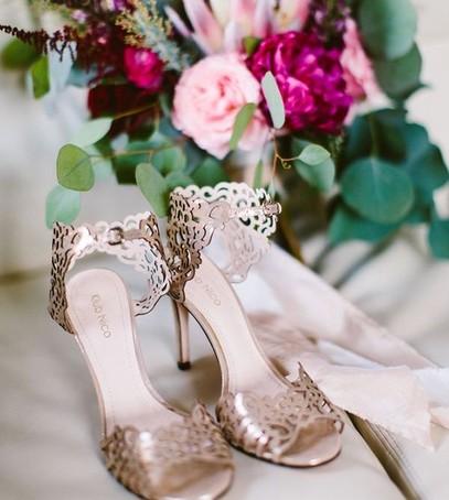 босоножки, туфли на свадьбу, обувь невесты, золотой