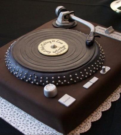 торт ретро стиль