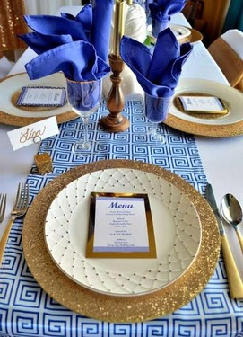 свадьба в греческом стиле , декор стола в греческом стиле