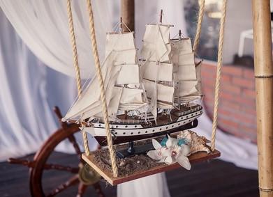 Свадьба в морском стиле: атмосферный праздник на волнах любви