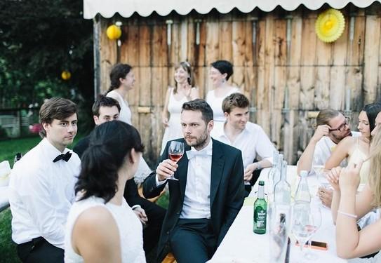 свадьба на даче, маленькая свадьба с друзьями
