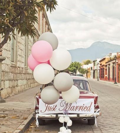 Оформление авто на свадьбу