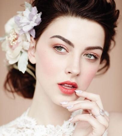 Тенденции свадебного макияжа 2017