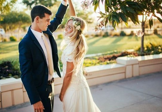 свадьба в стиле шебби-шик