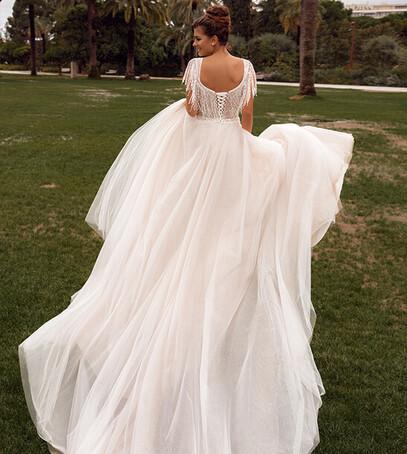 дизайнерское свадебное платье украина