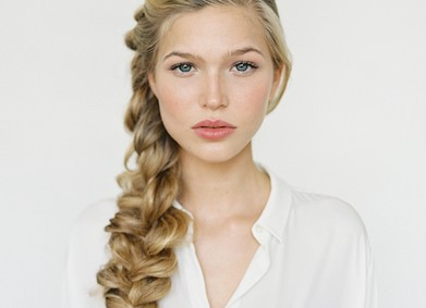 3 варианта свадебной причёски с плетением: сделай сама!