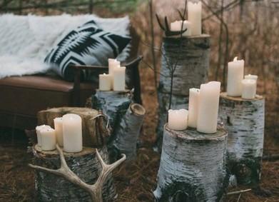 Свадьба в скандинавском стиле, или как сэкономить на свадебных цветах зимой?