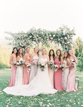подруги невесты на свадьбе