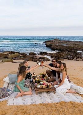 маленькая свадьба на берегу моря