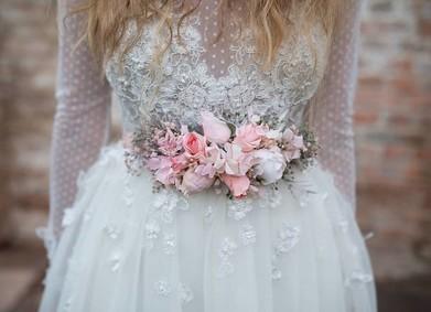 Свадьба-2019: ещё больше цветов в образе невесты!